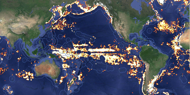 Rusia vigilará desde el espacio que su pescado no 'nade' al extranjero