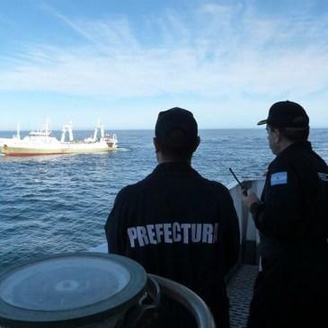 Reconocimiento de CEPA por la captura de un buque de pesca ilegal en el Mar Argentino