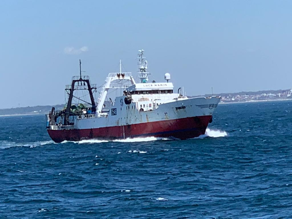 El Ponte de Rande superó con éxito su prueba de mar y navegación
