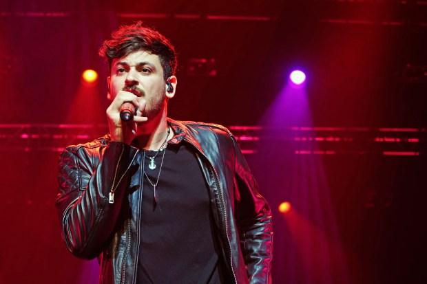 Cepeda en su concierto en el Teatro Nuevo Apolo de Madrid el 18 de marzo de 2019 (Fuente: TW @alrightx_)