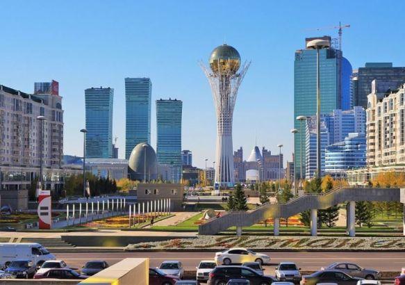 Столица страны, город Астана.