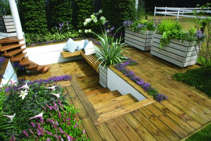 10 Small Garden Decking Ideas Real Homes with regard to [keyword