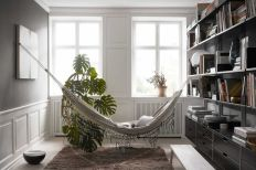 20 Ideas For Decorating With Indoor Hammocks pertaining to 26+ Amazing Living Room Hammock