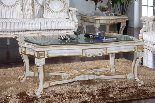 2019 Luxury Royalty Living Room Furniture Frenchclassic Coffee Table With Glass Top Italian Rectangle Table From Fpfurniturecn 117086 Dhgate with regard to [keyword