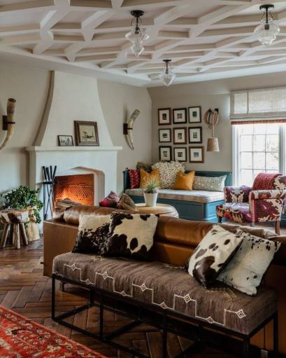 25 Eclectic Living Room Design Ideas You Will Love for 31+ Dorable Eclectic Living Room