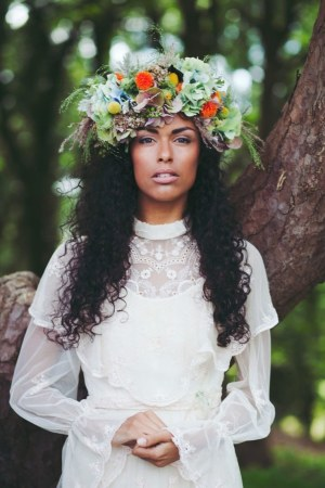 31 Flower Crown Hairstyles For Your Wedding Brides throughout 23+ Outstanding Flower Hairstyles