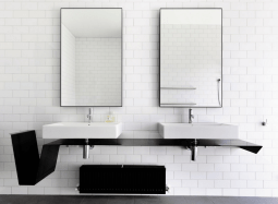 38 Bathroom Mirror Ideas To Reflect Your Style Freshome within 24+ Big Bathroom Mirror Trend In Real Interiors