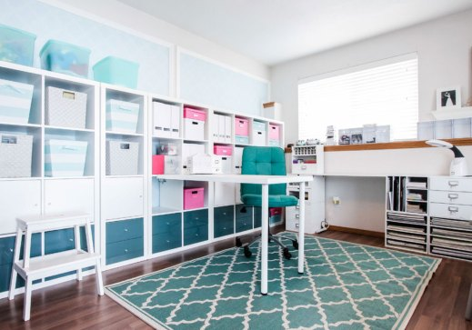 43 Clever Creative Craft Room Ideas Home Remodeling in 23+ Nice Craft Room Ideas