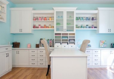 43 Clever Creative Craft Room Ideas Home Remodeling with regard to 23+ Nice Craft Room Ideas