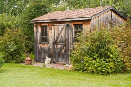 A Charming Rustic Garden Shed Made From Reclaimed Timber Barn regarding [keyword