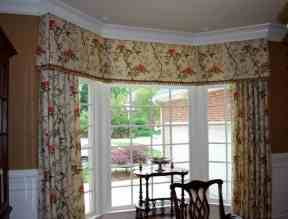 Bay Window Valances With Curtains Magnificent Bay Window Valances in [keyword