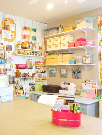 Craft Room Tour Happiness Is Homemade in 23+ Nice Craft Room Ideas