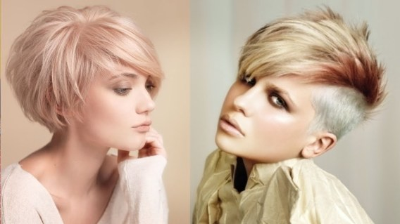 Distinctive And Unique Short Hair Styles Women Hair Cuts Women intended for [keyword