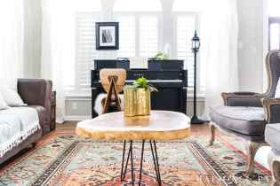 Eclectic Living Room With Colorful Neutral And Vintage regarding ucwords]