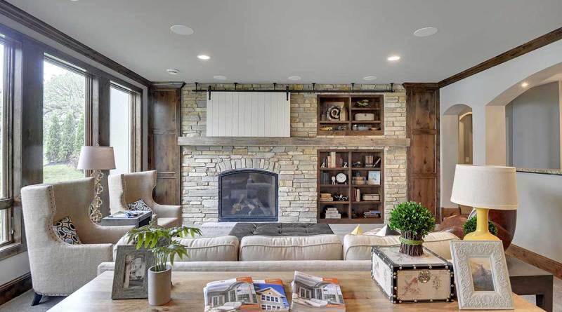 Fireplaces Gonyea Custom Homes throughout 10+ Adorable Fireplace Living Room