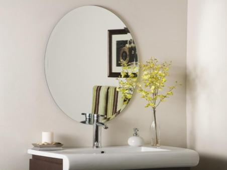 Frameless Beveled Bathroom Mirrors Cookwithalocal Home And pertaining to ucwords]