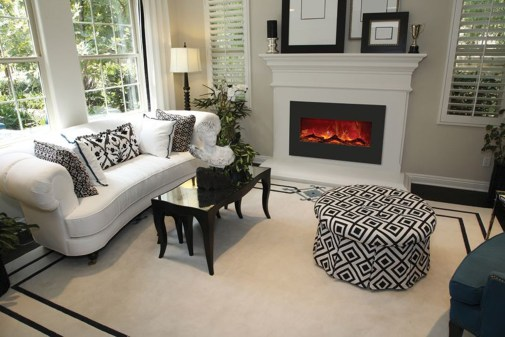Free Images Electric Fireplace Living Room Furniture throughout ucwords]