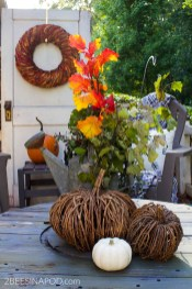 Front Porch Fall Decor Cozy And Inviting 2 Bees In A Pod with regard to [keyword