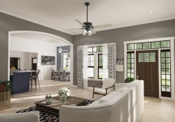 How To Choose A Ceiling Fan Guide The Basics Hunter Fan Blog pertaining to 10+ Perfect Living Room Ceiling