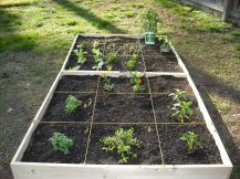 How To Make An Easy Square Foot Garden 9 Steps pertaining to [keyword