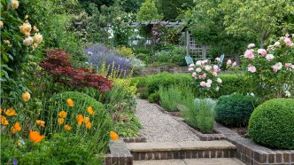 How To Make An English Cottage Garden Grow Beautifully intended for 20+ How To Build Your Own Vertical Garden With A Pallet