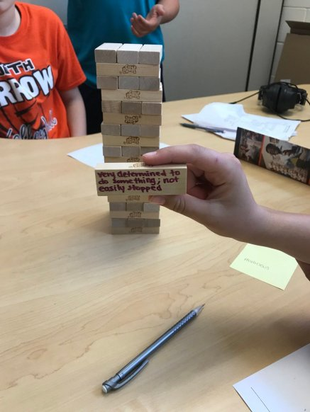 Jarrod Vance On Twitter Jenga Headbands Around The World throughout 27+ Perfect Vocab Review Games