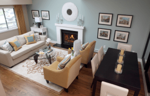 Living Room Rectangle Living Room Dining Room Combo With with regard to 21+ Attractive Rectangle Living Room