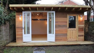 Man Cave She Shed Garden Office Youtube regarding ucwords]