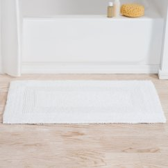Mayfield Reversible Bath Rug intended for 20+ Unique Luxury Bath Rugs