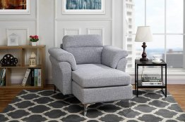 Modern Living Room Linen Fabric Chaise Lounge With Arm Rests Light Grey throughout 26+ Perfect Lounge Living Room