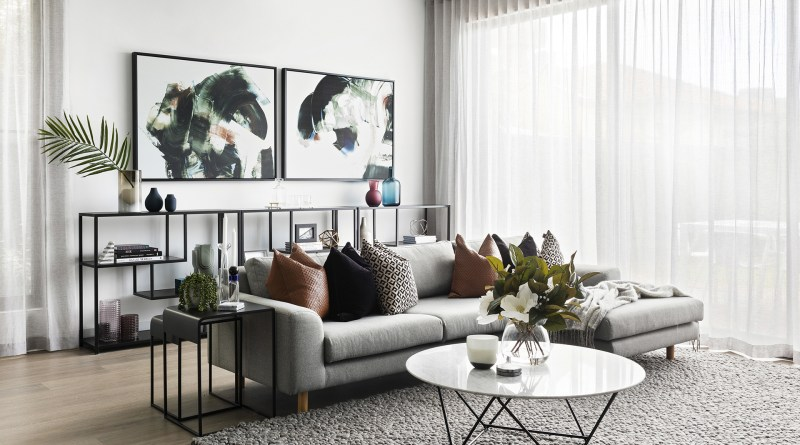 Modern Luxe Living Room Ideas From This Melbourne Home Makeover for [keyword