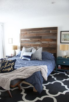 Modern Rustic Master Bedroom Reveal Fresh Crush pertaining to [keyword