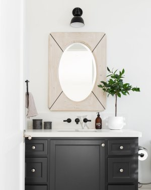 Our Favorite Decorative Bathroom Mirrors inside ucwords]