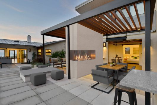Outdoor Fireplace Ideas The Popularity Of Outdoor Living throughout 28+ Fancy Outdoor Living Room