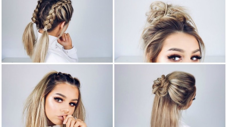 Quick And Easy Hairstyles Youtube with regard to [keyword