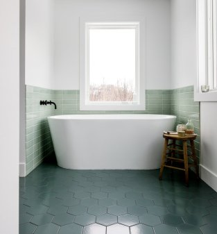 Rebooting The Bathroom The New York Times with 18+ Magnificent Bathroom Floor Tiles Design