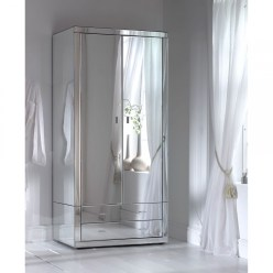 Romano Mirrored Wardrobe Mirrored Bedroom Wardrobe Classic Style intended for [keyword