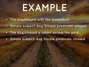 Simple Subjects And Predicates Nms6thgradela with regard to [keyword