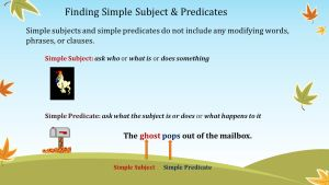 Simple Subjects Predicates Ppt Video Online Download inside ucwords]