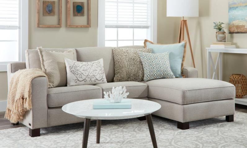 Small Sectional Sofas Couches For Small Spaces Overstock inside 14+ Best Living Room Couch