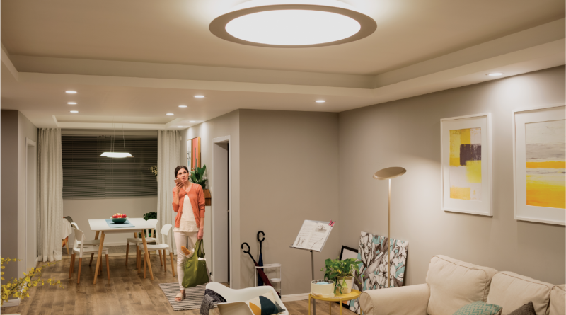 Stylish Living Room Lighting Ideas Meethue Philips Hue intended for [keyword