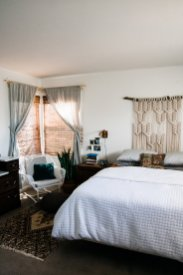 The Perks Of Decorating Slowly Palmers Neutral Boho Bedroom throughout [keyword