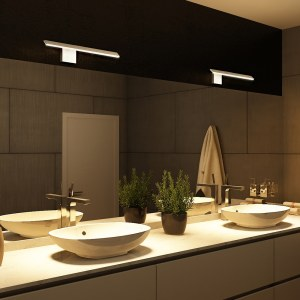 Wezen Vmw11400al 21 Led Bathroom Light Vanity Light Modern Bathroom Light Fixture Low Profile Bath Bar Vonn Lighting Vonn pertaining to 29+ Perfect Bathroom Lighting