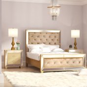 Willa Arlo Interiors Alasdair Mirrored Tufted Platform 3 Piece regarding 14+ Beautiful Bedroom Mirror Ideas Can Improve Your Bedroom