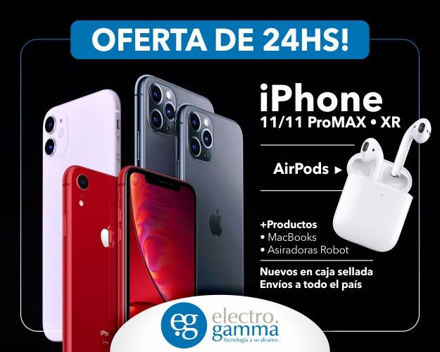 Electrogamma teléfonos iphone 11 pro en oferta en argentina