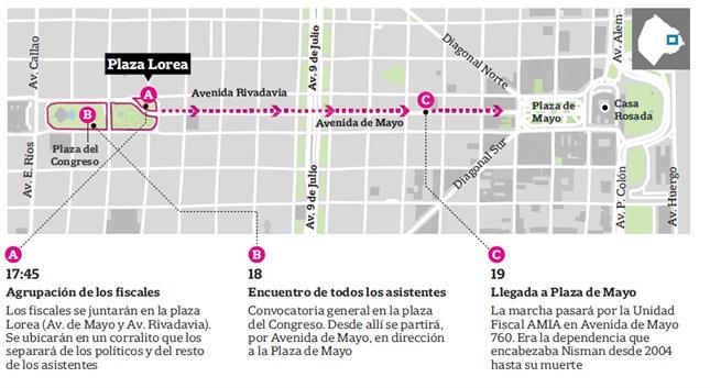 Movilización por Nisman