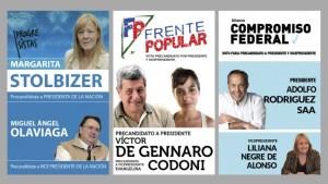 Stolbizer - De Gennaro - Rodriguez Saa