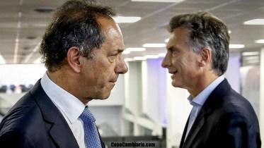 Debate Macri y Scioli domingo 15 de noviembre