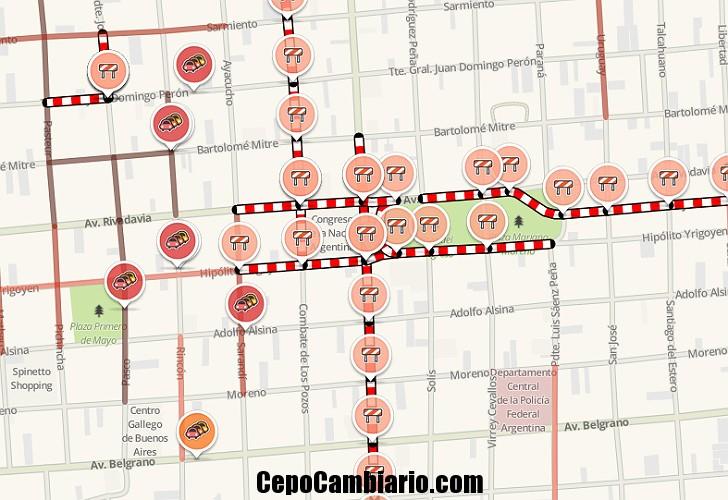 Lunes de cortes y piquetes una por una, dónde serán las protestas que anticipan un caos de tránsito