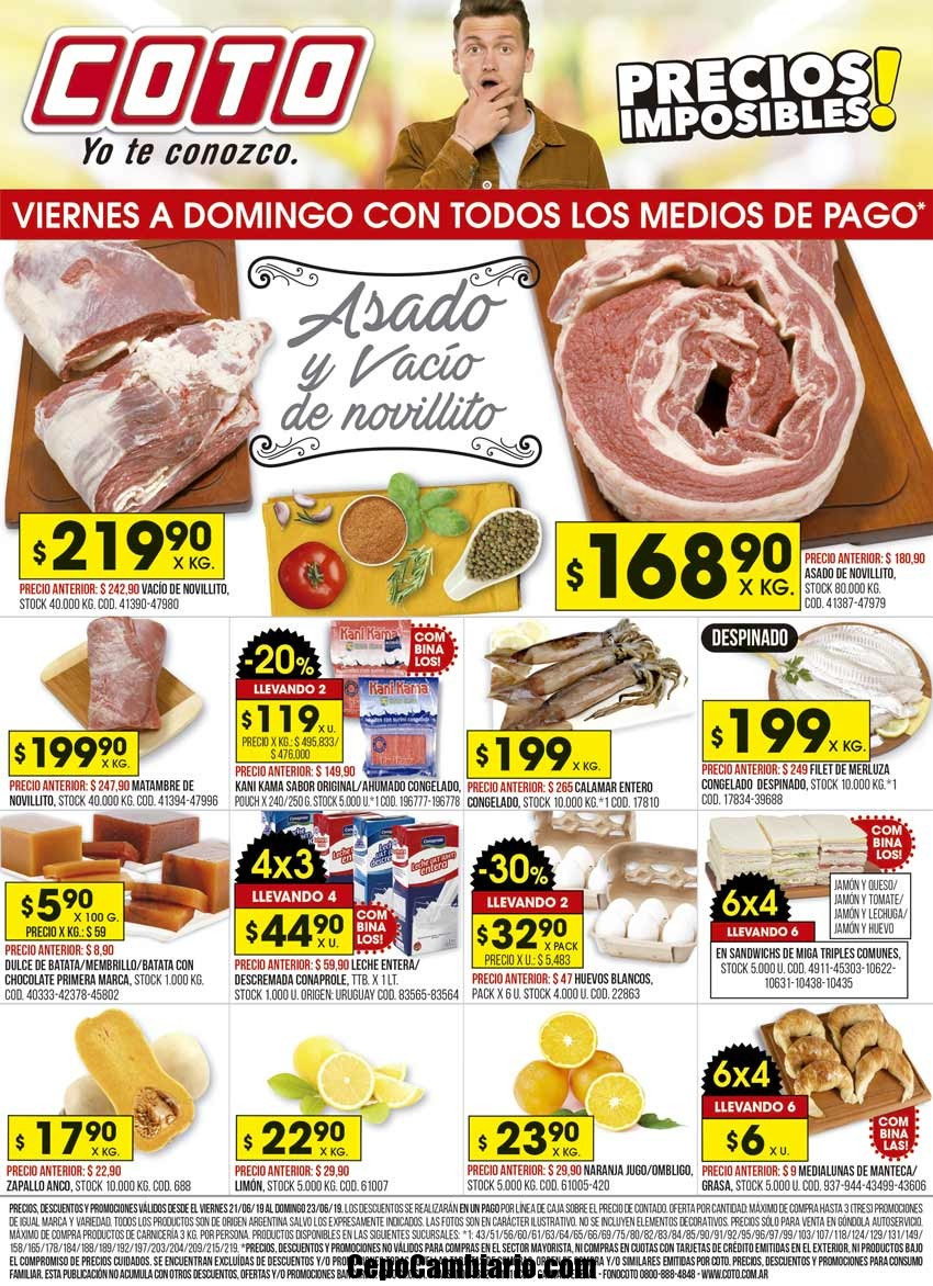 Promociones de Ofertas de Supermercados del día de hoy